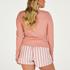 Long-Sleeved Pyjama Top , Pink