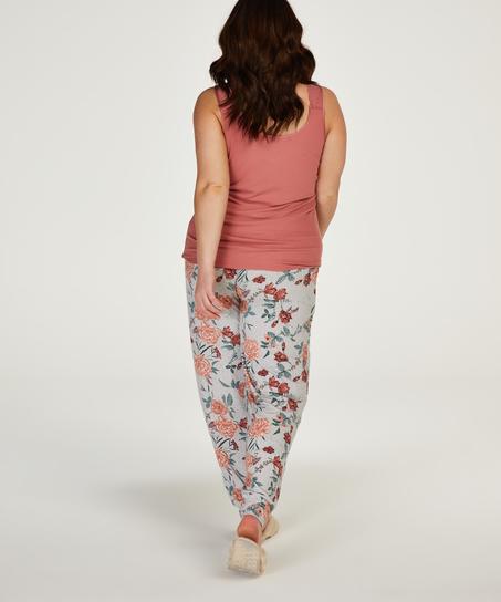 Jersey pyjama bottoms, Grey