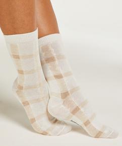 2 Pairs Cotton Socks, Black