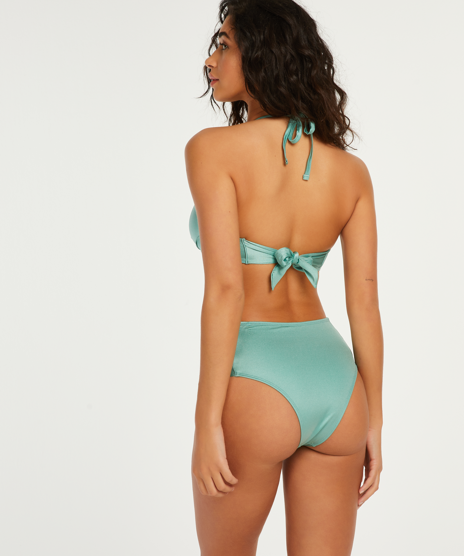 SoCal padded push-up underwired bikini top, Green, main