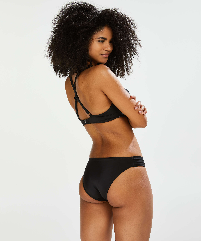 Sunset Dream Bikini Bottoms, Black, main