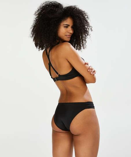Sunset Dream Bikini Bottoms, Black