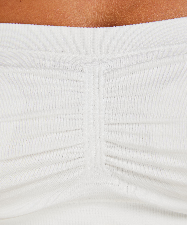 Seamless bandeau top, White, main