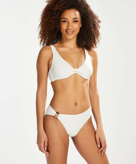 Emily bikini top, White