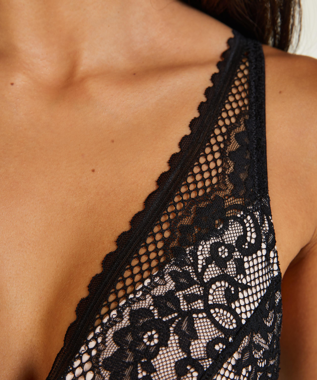 Morgan prosthetic underwireless bra, Black, main