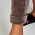 Velours Jogging bottoms, Brown