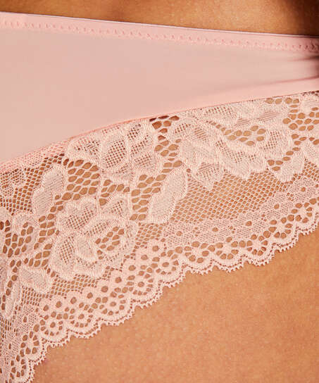 Valencia Brazilian Shorts, Pink