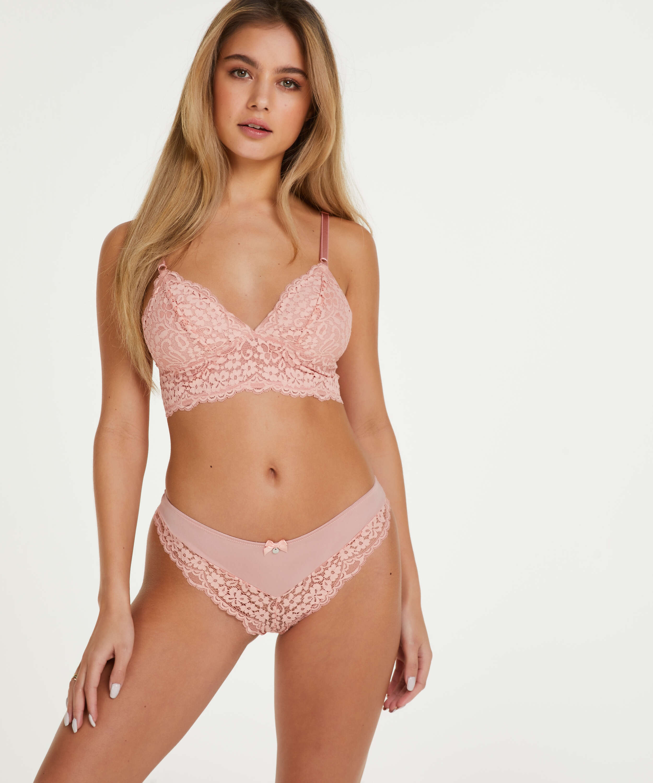 Rose Bralette, Pink, main