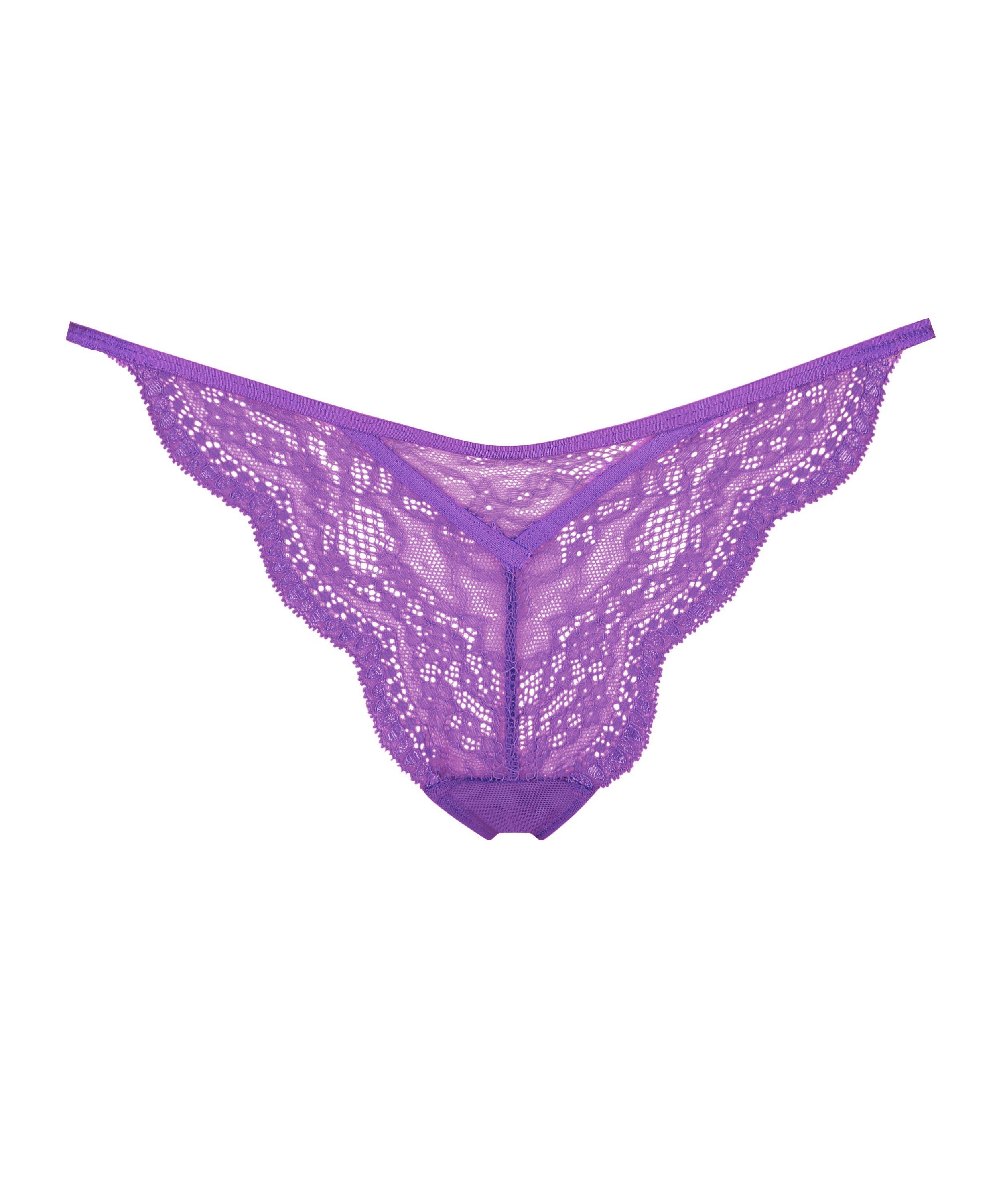 Thong Isabelle, Purple, main