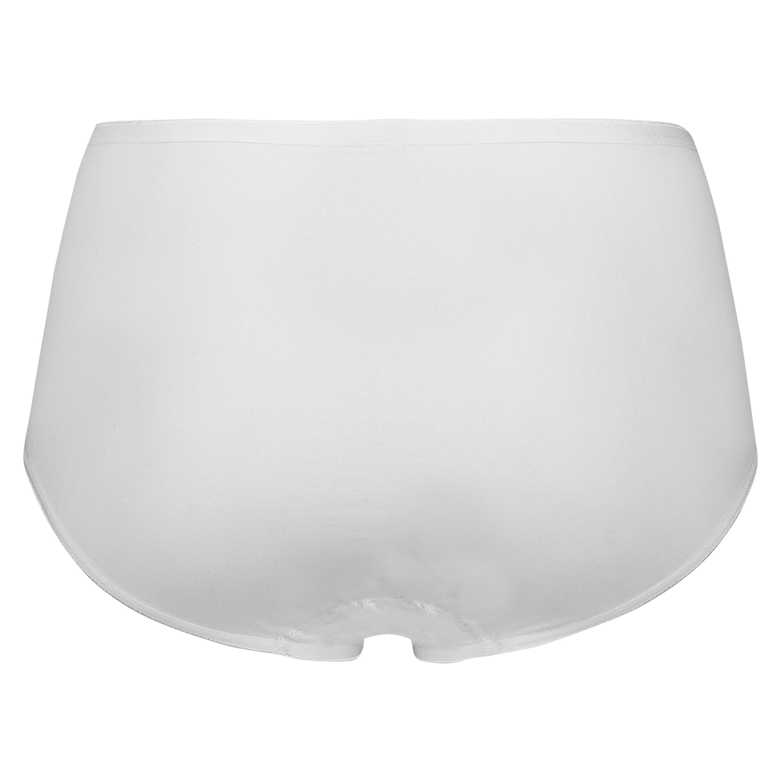 Superslip midi cotton, White, main
