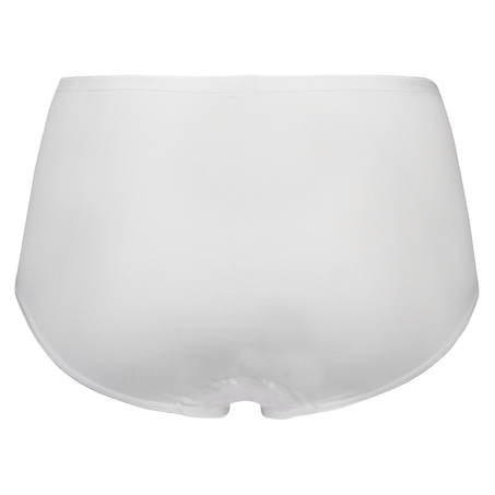 Superslip midi cotton, White