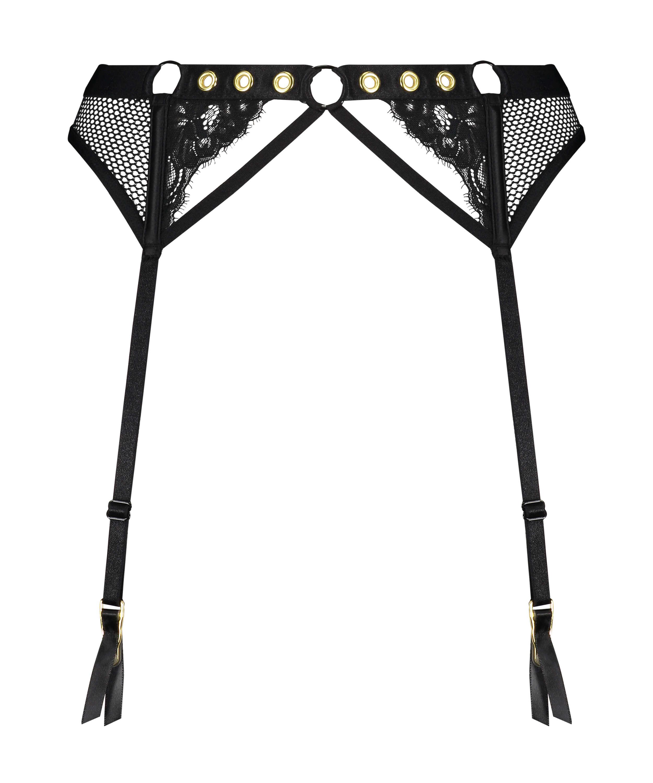 Sadie Private Suspenders, Black, main