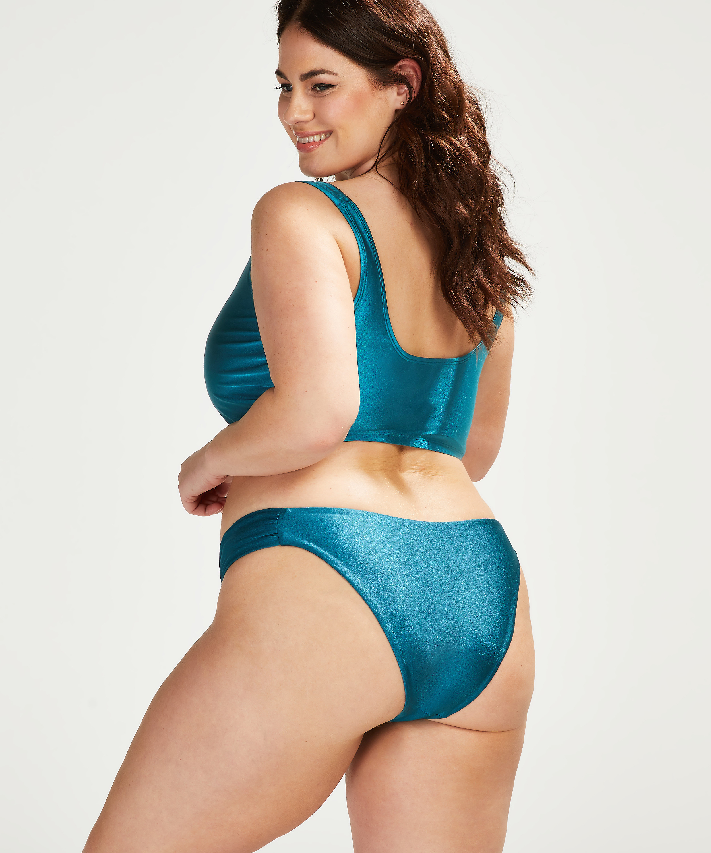 Brokopondo high-leg bikini bottoms I AM Danielle, Grey, main