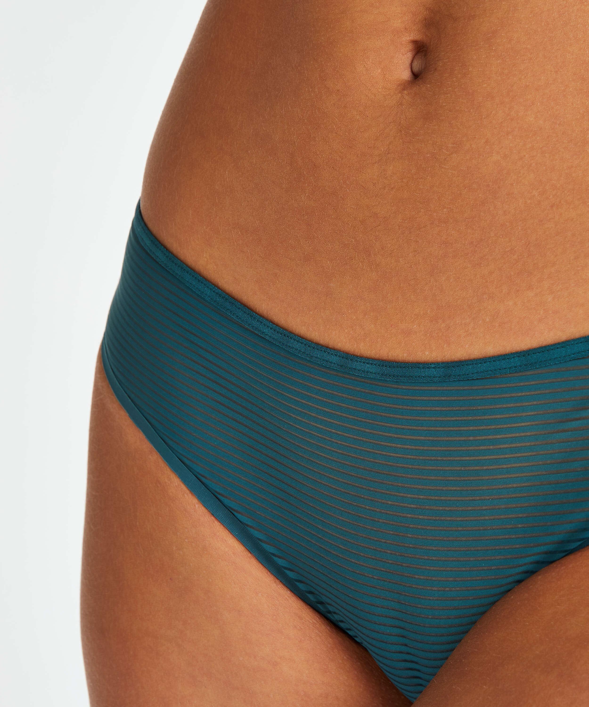 Invisible Brazilian Stripe mesh, Blue, main
