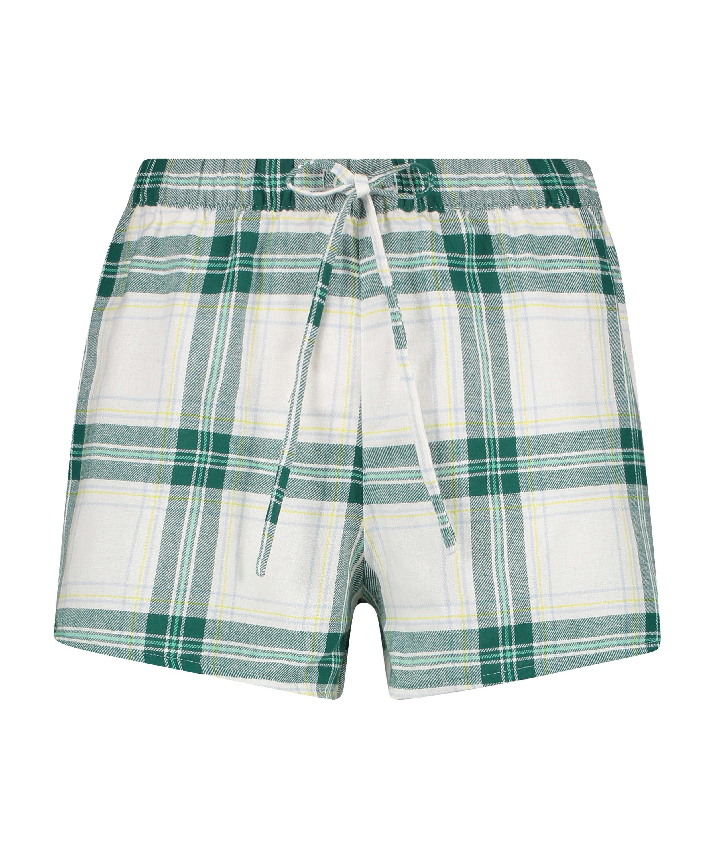 Twill Check shorts, Grey, main