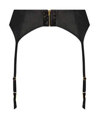 Talia Private Suspenders, Black