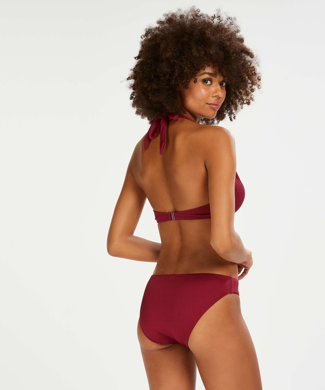 Golden Rings rio bikini bottoms, Red, main