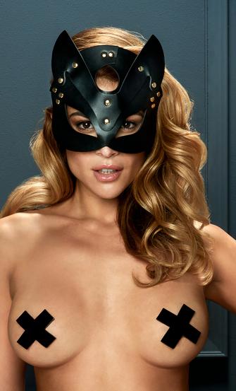 Private Kitten Mask, Black