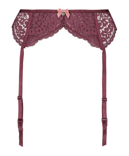 Rose Suspenders, Red