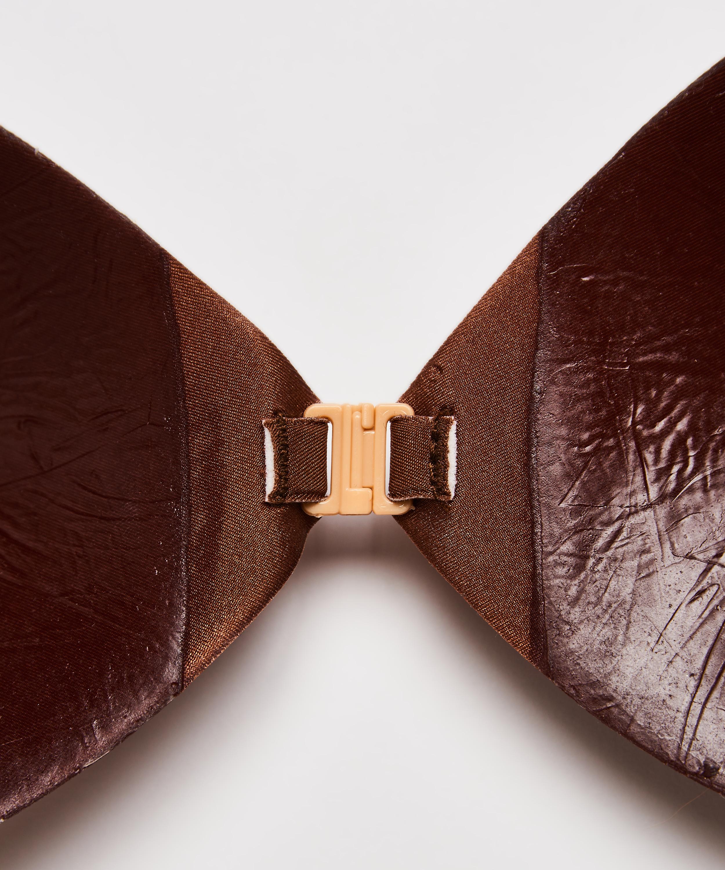 Adhesive bra, Brown, main