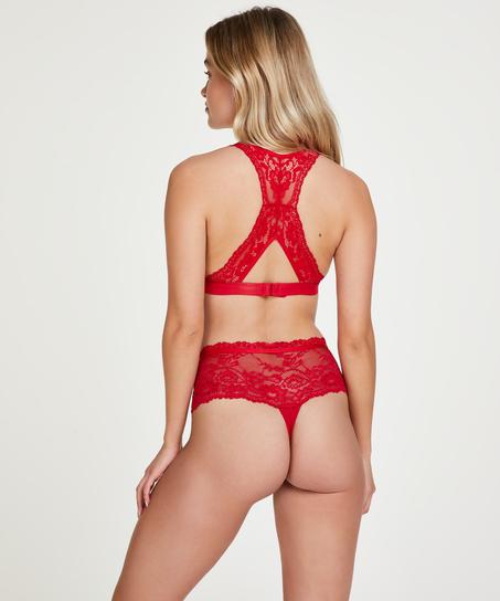 Alda boxer thong, Red