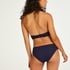 Invisible cotton knickers, Blue