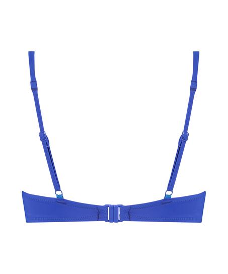 Luxe push-up bikini top Cup A - E, Blue