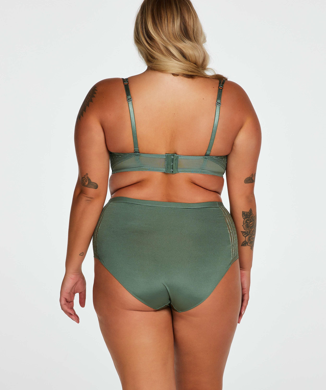 Kriss padded strapless underwired bra I AM Danielle, Green, main