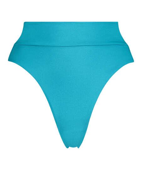 High-cut bikini bottoms Celine, Blue