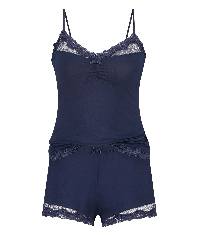 Pajama Set, Blue, main