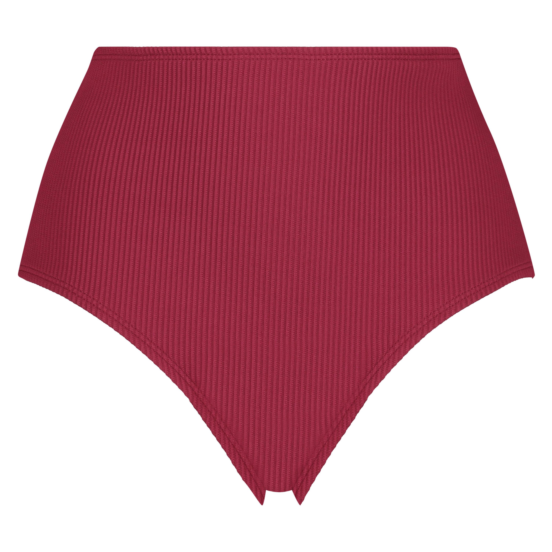 Golden Rings high bikini bottoms, Red, main