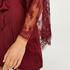Satin Kimono, Red