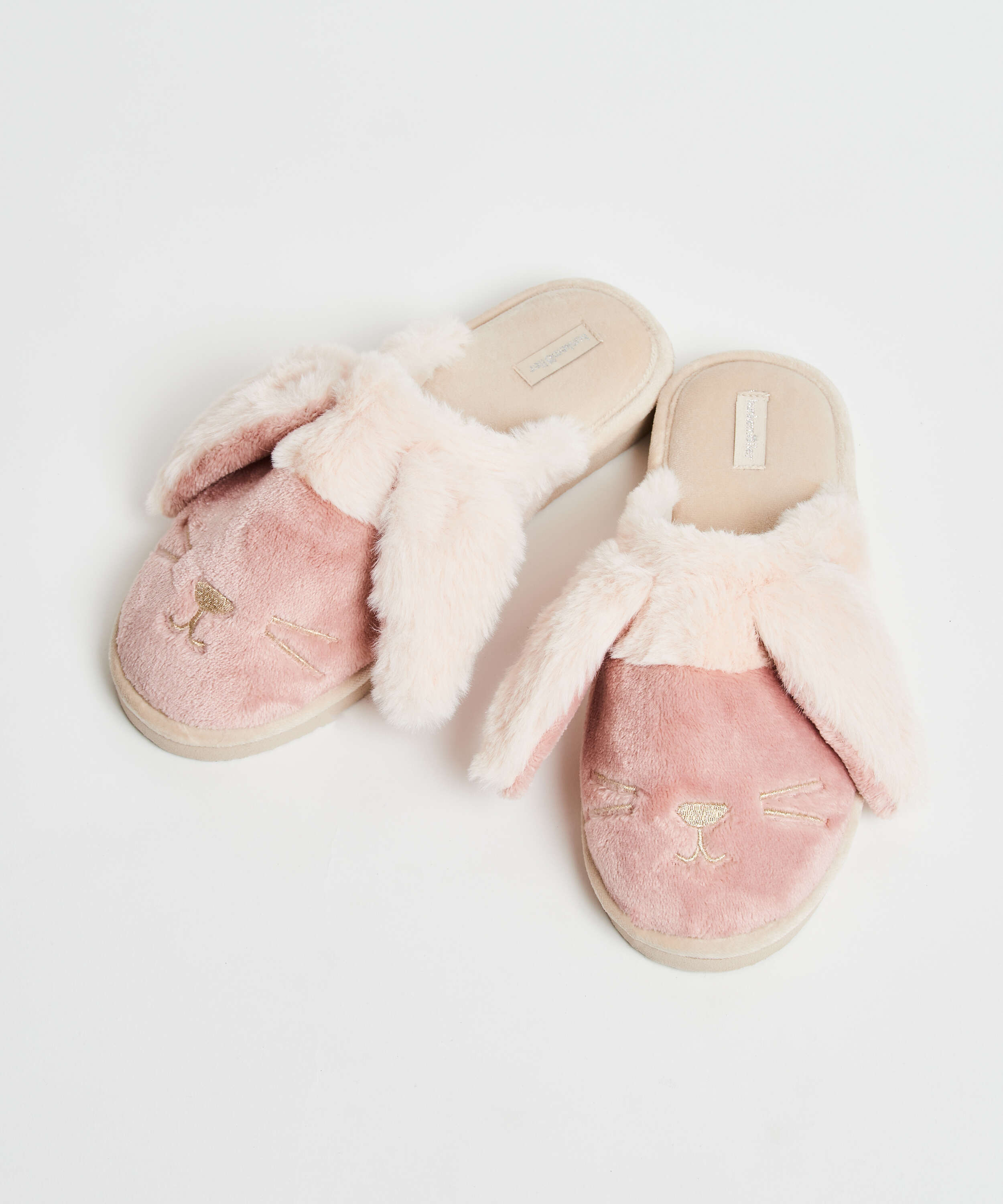 Cute Bunny slippers, Pink, main
