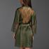 Kimono Satin Lily, Green