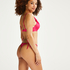 Luxe push-up bikini top Cup A - E, Pink