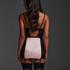Amelia Padded Underwired Sip Dress , Black