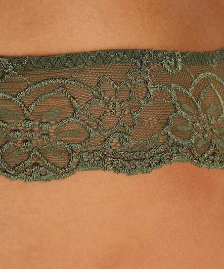 Rosie Thong Shorts, Green