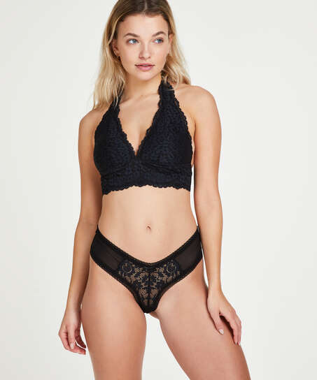 Franzi V-shaped Brazilian, Black