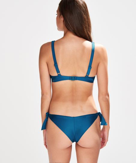 Sunset Dream Brazilian bikini bottoms, Blue