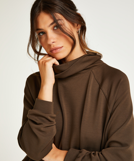 Sweater Funnel Neck, Green