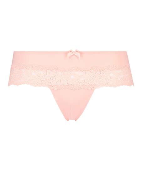 Paris boxer thong, Pink