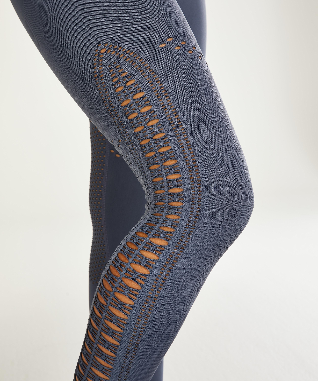 HKMX Karma Seamless High Waisted Legging, Blue, main