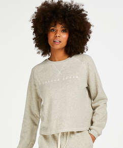 Sweat Brush Jumper, Beige