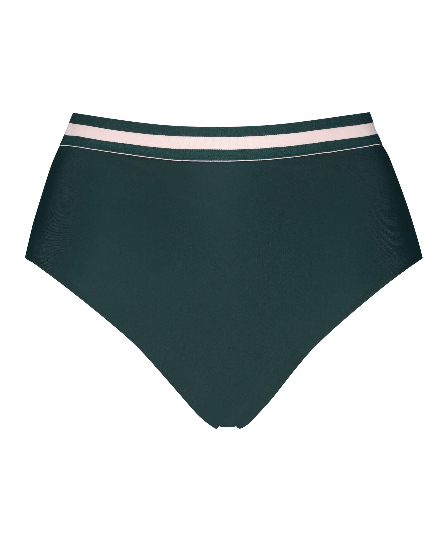 Pinewood high Brazilian bikini bottoms, Green, main