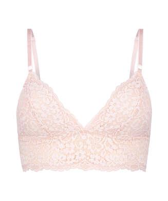 Rose Bralette, Pink