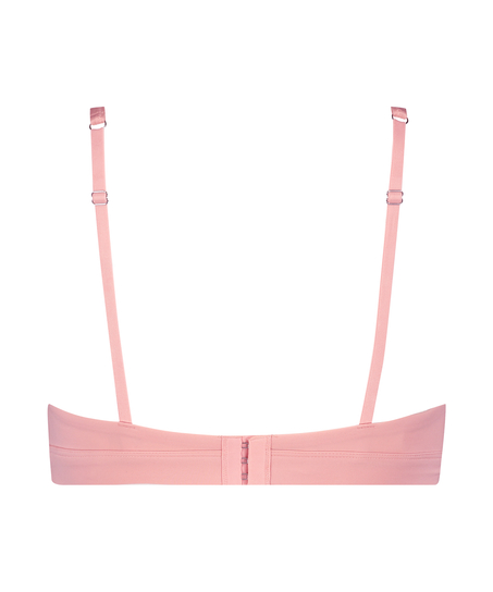 Soft non-padded non-underwired bra, Pink