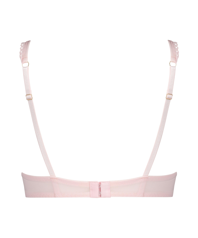 Malika Padded Underwired Bra, Pink, main