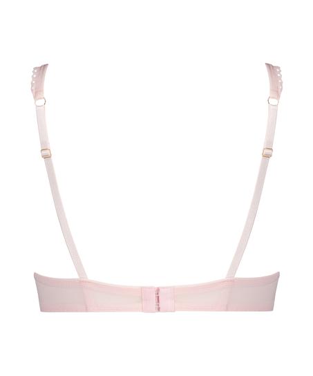 Malika Padded Underwired Bra, Pink