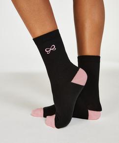 2 pairs of socks Bow, Black