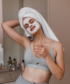Bralette Finnia HKM x NA-KD, Grey